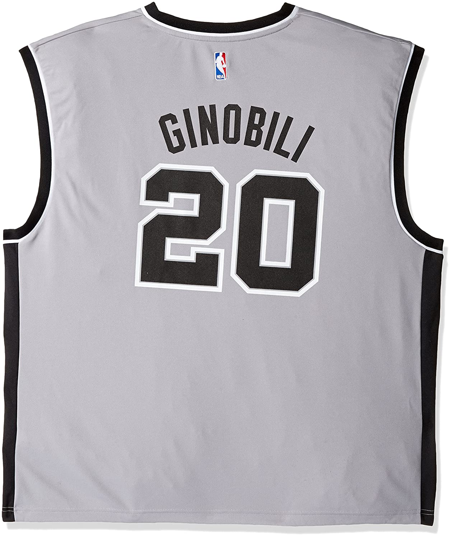 super popular f8142 3bdef Amazon.com : NBA San Antonio Spurs Replica Jersey Manu ...