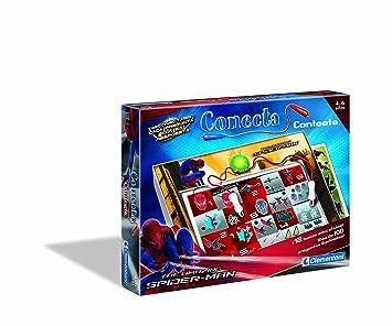 Clementoni 65412 De Man17 Preguntas Juego Conecta Spider dxoCrBe
