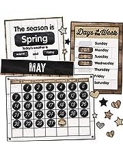 Carson-Dellosa Industrial Chic Calendar Bulletin Board Set