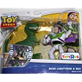 """Toy Story Double Pack - BUZZ LIGHTYEAR & REX 4"""" Figures"""