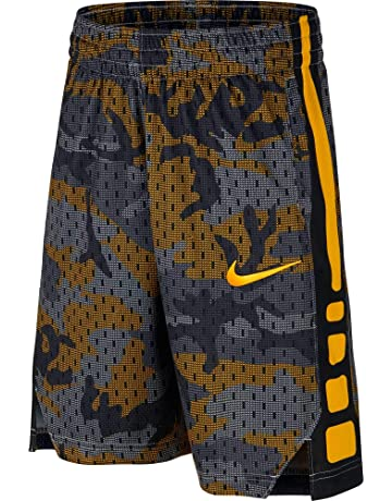 128e173a11c3 Amazon.com  Nike Boys 8-20 Elite Printed Basketball Shorts  Clothing
