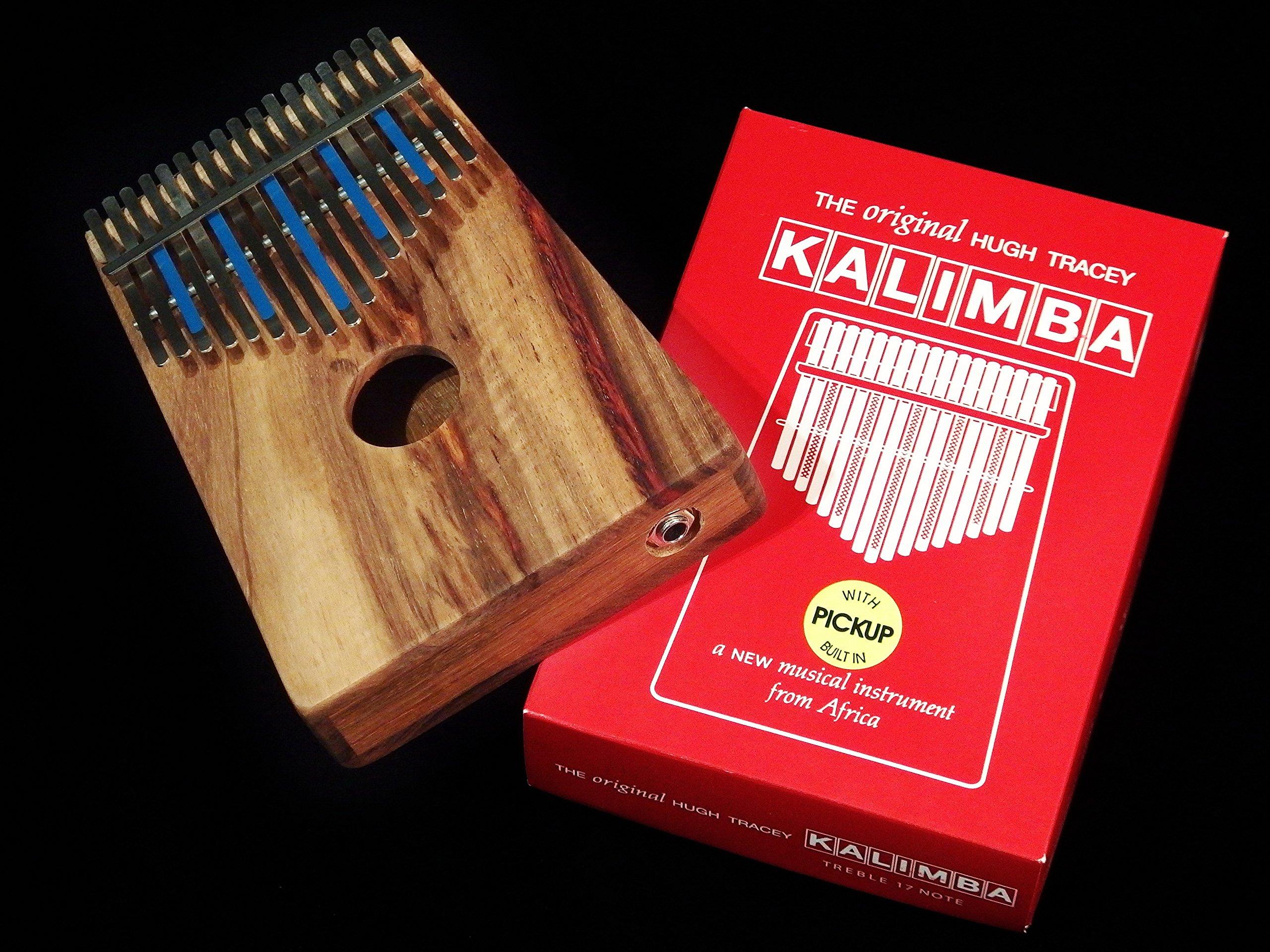 Kalimba Hugh Tracey Treble-17 Pickup Sansula Thumb Piano Great sound