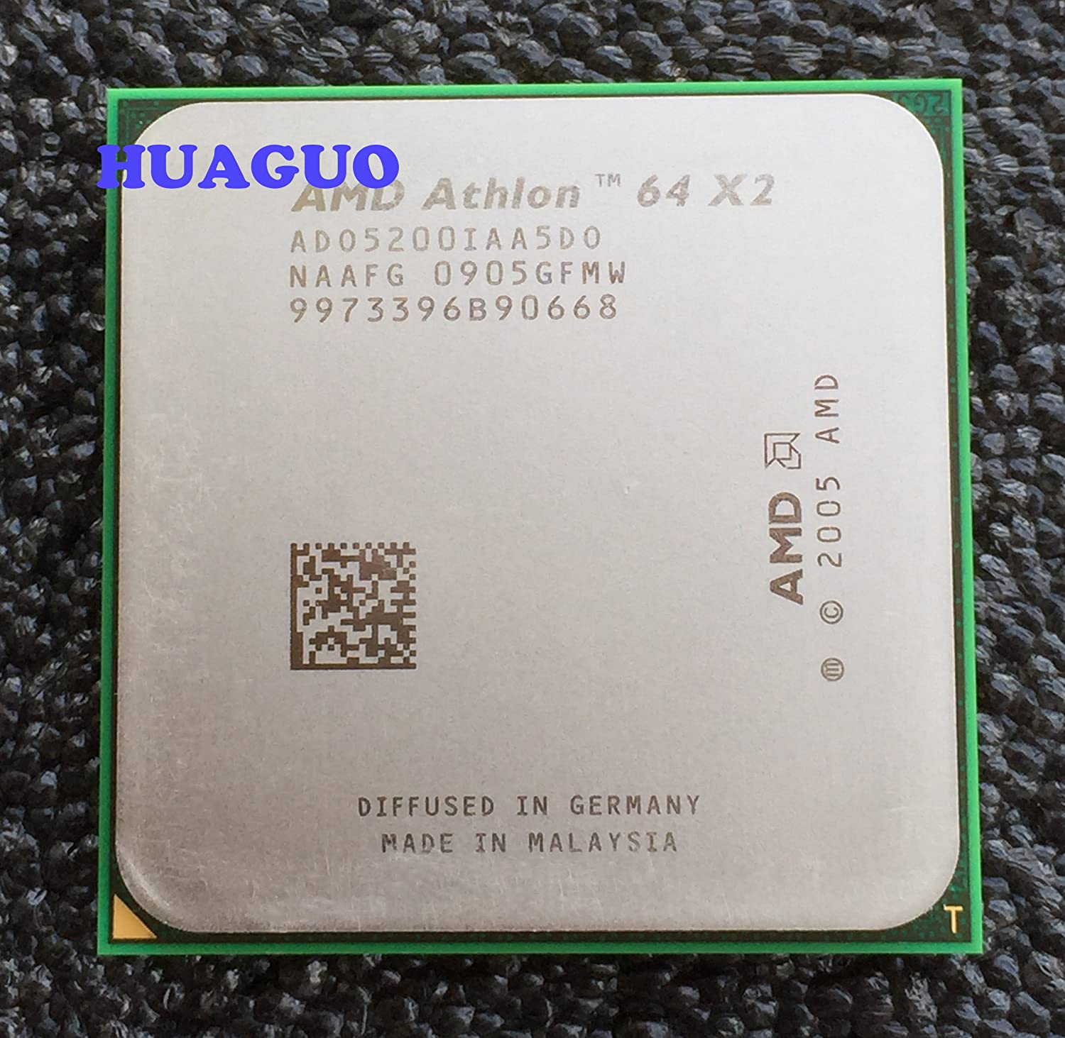 Amd Athlon 64 X2 5200 2 7ghz 2x512kb Socket Am2 Dual Core Cpu Cpu Processors