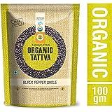 Organic Tattva Black Pepper Whole, 100g