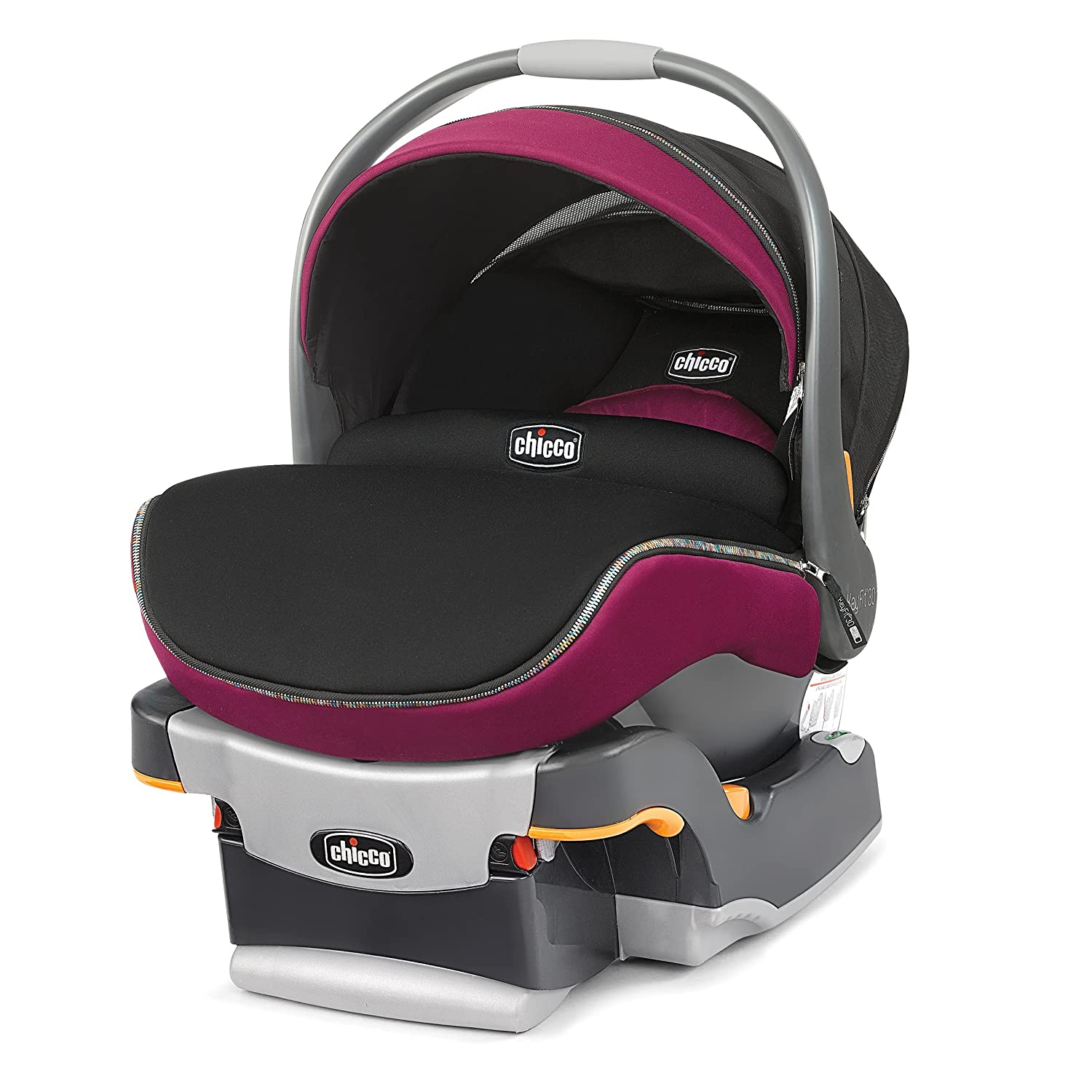 Amazon.com : Chicco Key Fit 30 Zip Infant Car Seat, Fuchsia : Baby