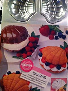 Wilton Mini Shells 6-Cavity Cake Pan #2105-4396