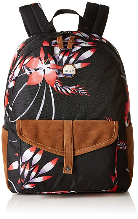 299de1891c Roxy Women Carribean Backpack, Black (Anthracite Drop Out Small), 30.5 x  12.5