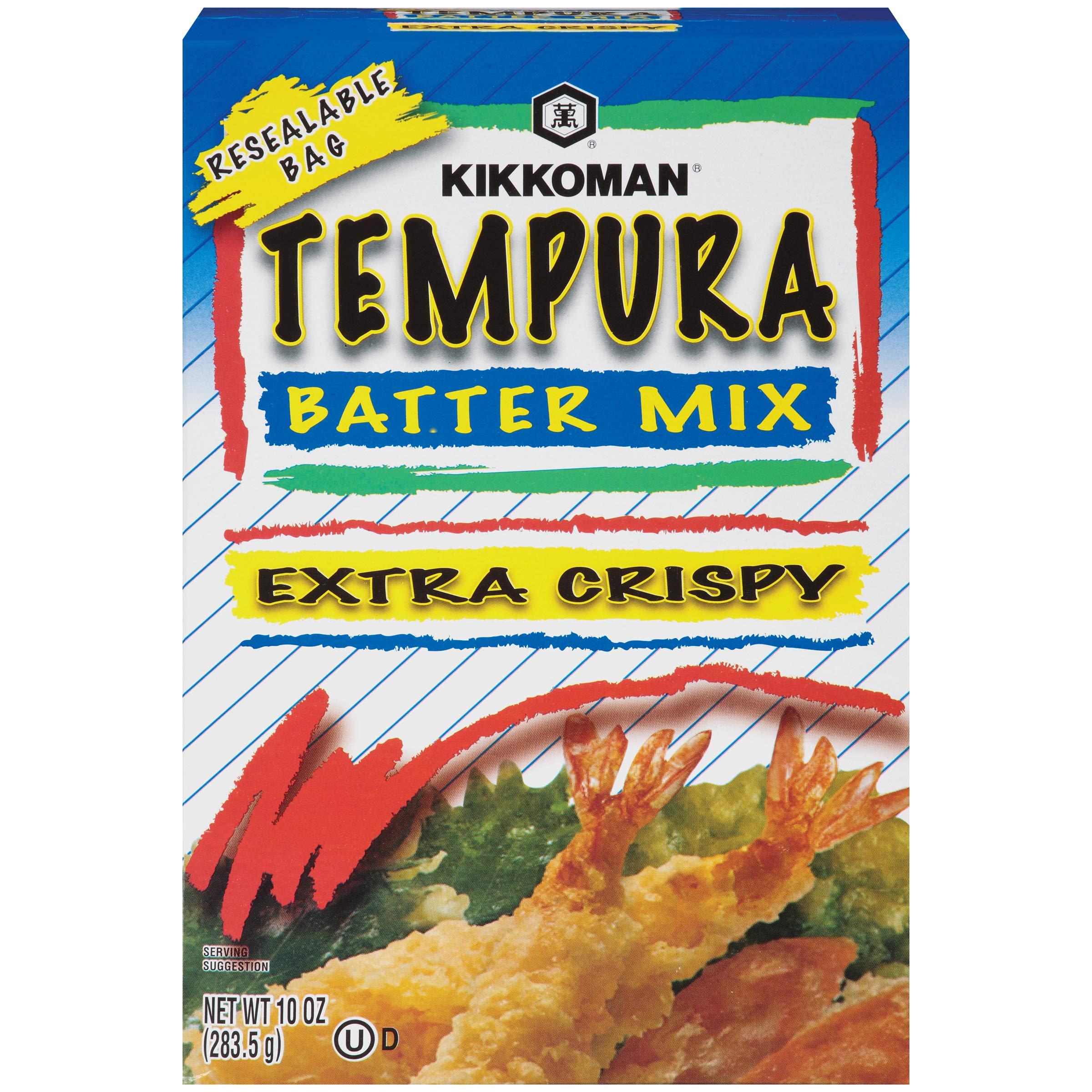 Kikkoman Mix Tempura Batter,Extra crispy, net wt 10 oz,pack of 2 by Kikkoman