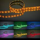 RGBW-LED-Streifen für farbintensive Beleuchtung / 5 Meter – 24 V – IP 54