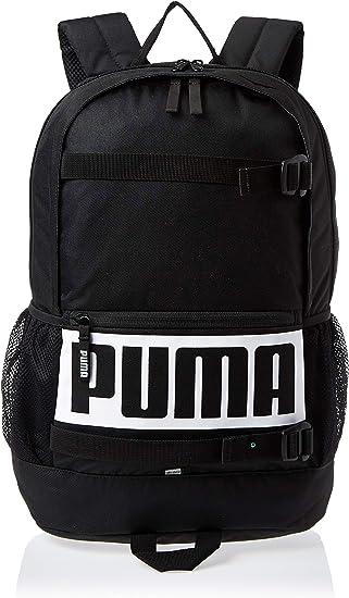 Puma Deck Mochila, Unisex Adulto, Negro, Talla única: Amazon.es: Deportes y aire libre