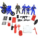 Police Force VS Villains Play Set Action Figure Toy Police
