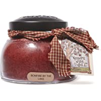 A Cheerful Giver Bonfire by The Lake 22 Ounce Mama Jar Candle