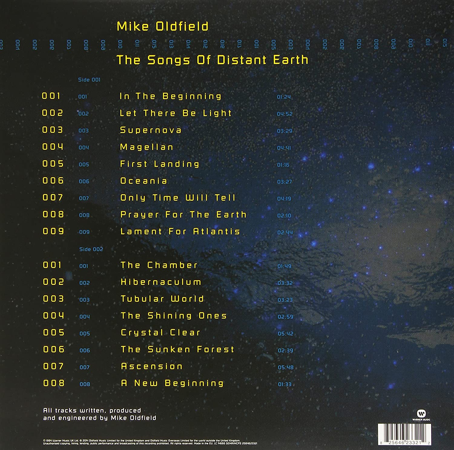 The Songs Of Distant Earth : Mike Oldfield: Amazon.es: Música