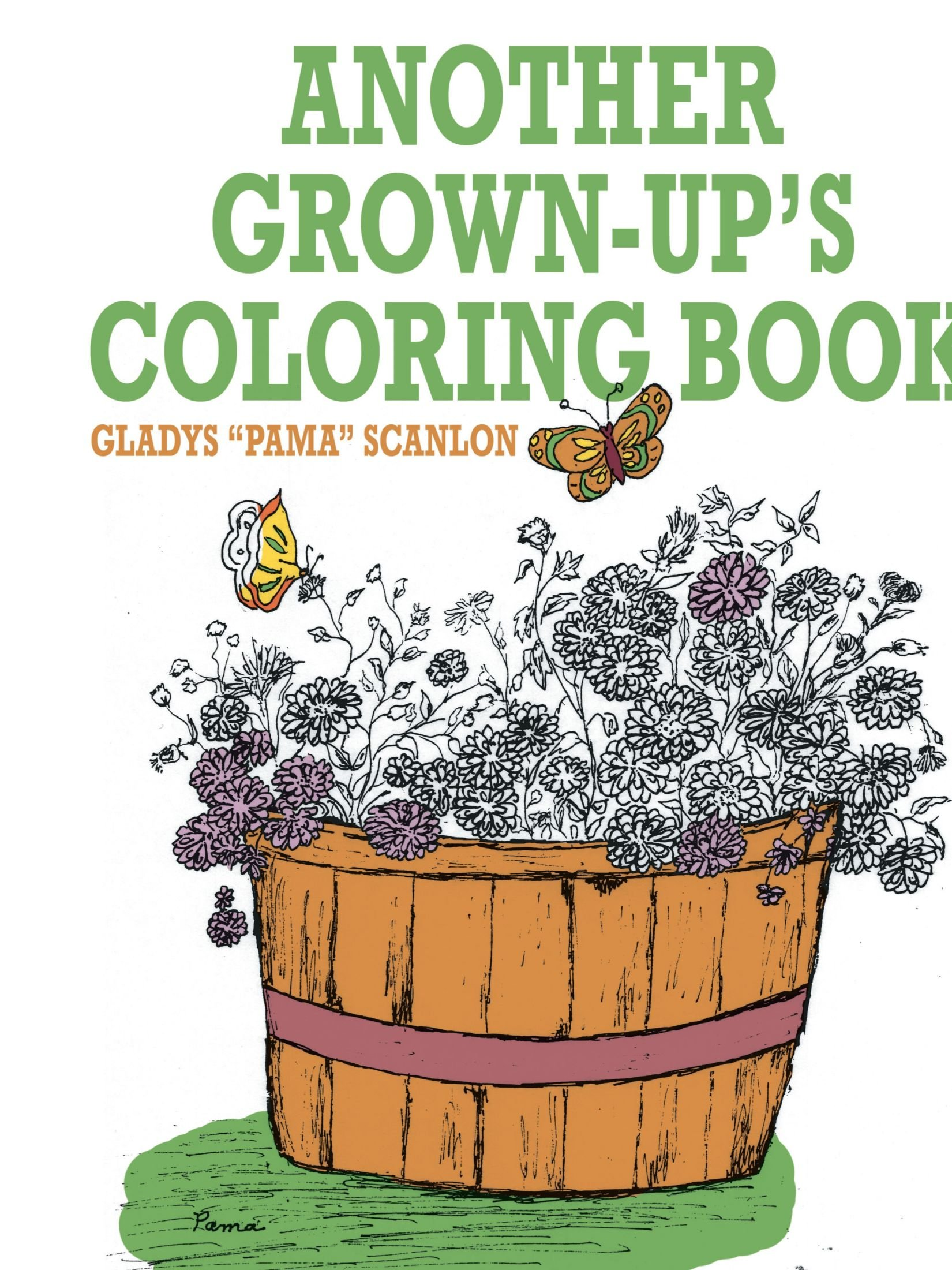another grown up u0027s coloring book gladys scanlon 9781425934828