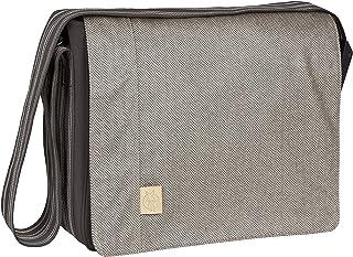 LÄSSIG Baby Wickeltasche Babytasche Stylische Umhängetasche inkl. Wickelzubehör/ Casual Messenger Bag Solid