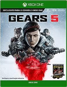 Gears 5 -  Xbox One + Chaveiro Exclusivo e DLC Lancer especial
