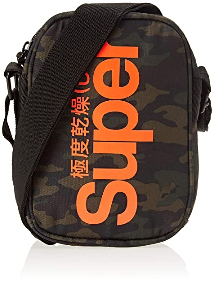 Superdry Racing Pouch, Sacs à dos homme,