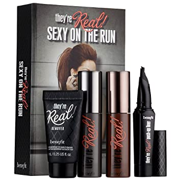 295969968f1 Amazon.com : Benefit Cosmetics They're Real! Sexy On The Run Kit ...