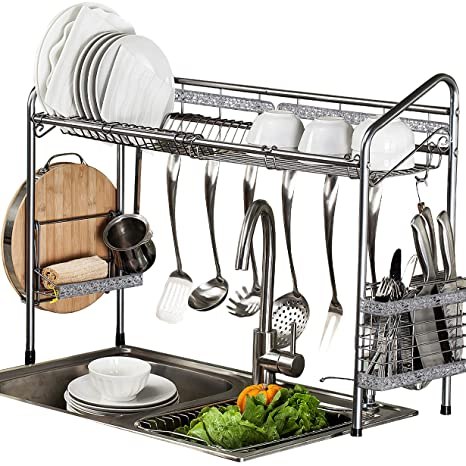 Terrific Premiumracks Professional Over The Sink Dish Rack Fully Customizable Multipurpose Large Capacity Home Interior And Landscaping Oversignezvosmurscom