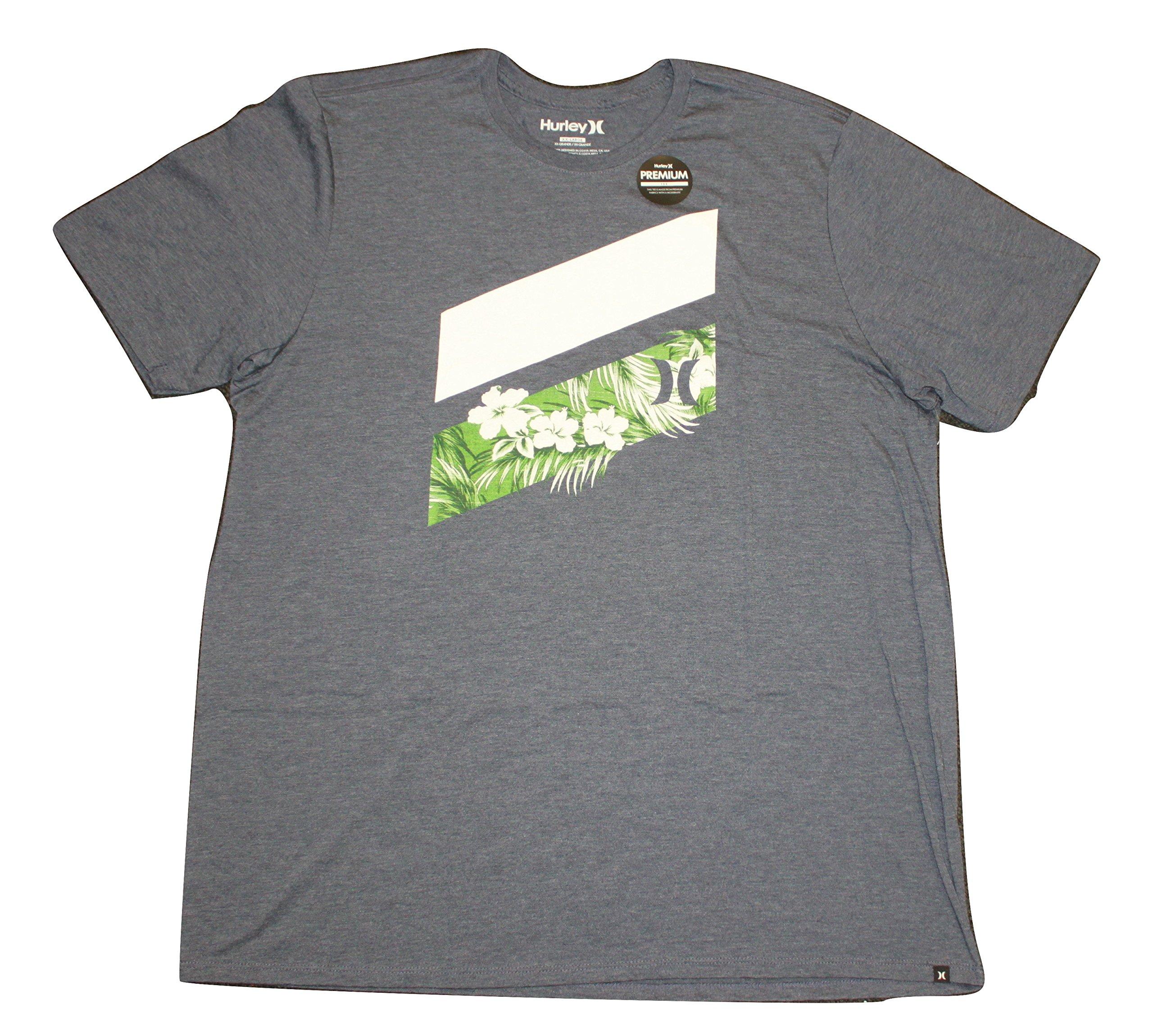 Hurley Mens Icon Slash Push Through Premium T-Shirt MTS0020760