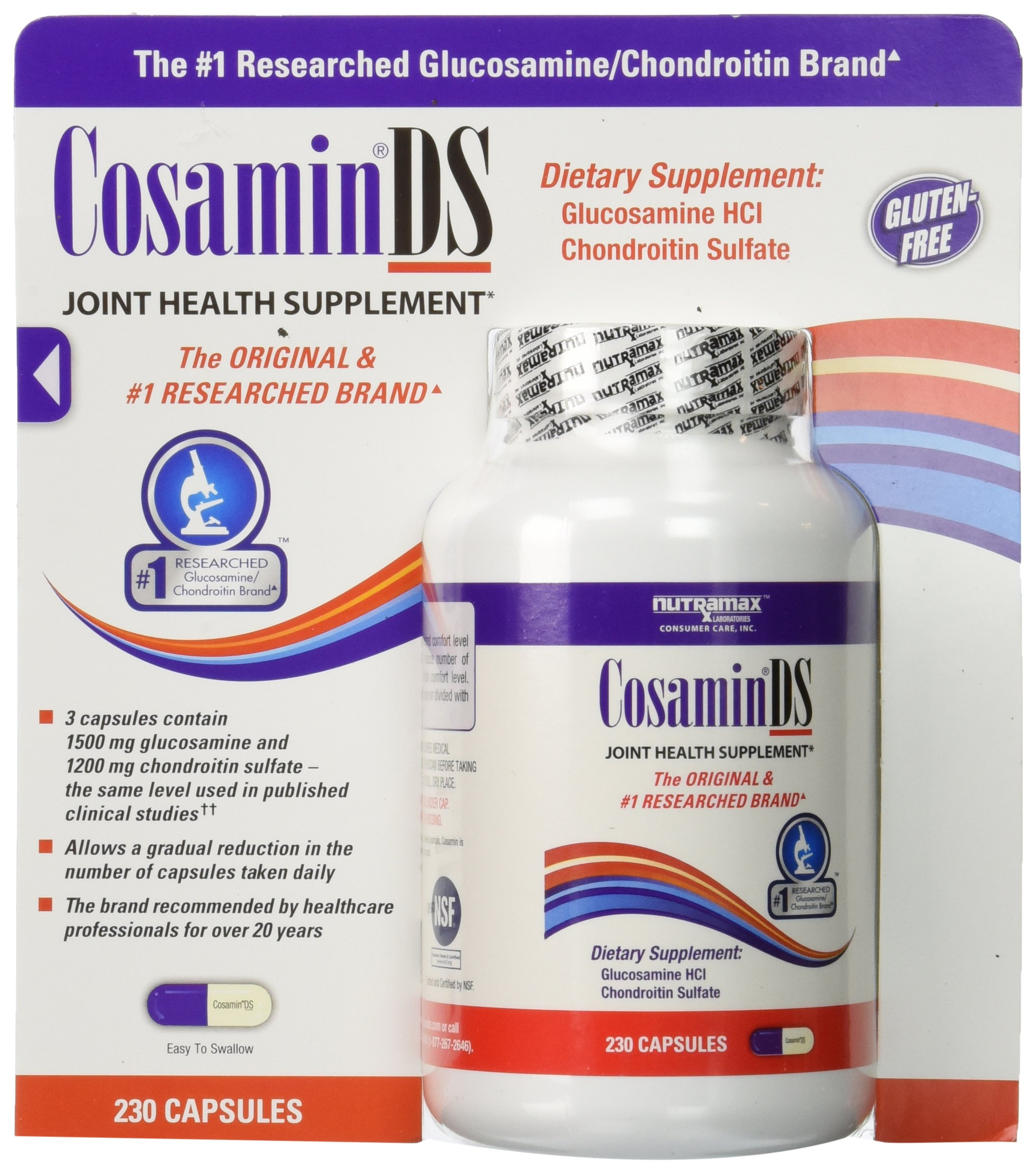 Cosamin DS - 2 Bottles, 230 Capsules Each by Cosamin DS
