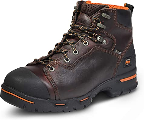 Amazon.com: Timberland PRO Men's Endurance 6 Inch Steel Safety Toe Puncture  Resistant Work Boot Industrial: Shoes