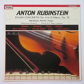 Anton Rubinstein, Michael Ponti - Anton Rubinstein: Piano