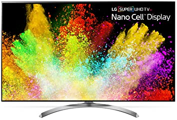 LG Electronics 65SJ8500 65-Inch 4K Ultra HD Smart LED TV (2017 Model)