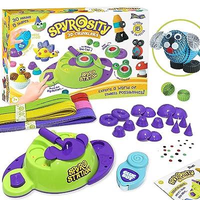 Quill On - Spyrosity Explore (Spyrosity 3D Crinklers): Toys & Games