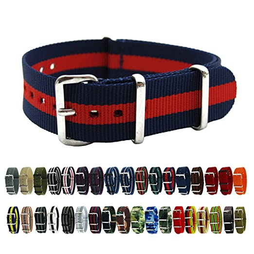 6db5d4bd25f HNS Watch Straps -Choice of Color   Width (18mm
