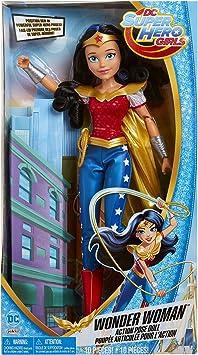 12 inch Toy DC SuperHero Girls DLT62 Action Figure Wonder Woman Doll