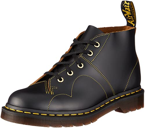 Dr. Martens Monnkey Boot Church, Scarpe Basse, Unisex - Adulto, Nero (