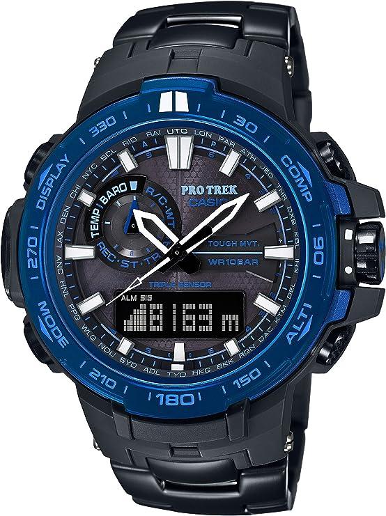 [カシオ] 腕時計 プロトレック トリプルセンサーVer.3搭載世界6局対応電波ソーラー PRW-6000SYT-1JF ブラック