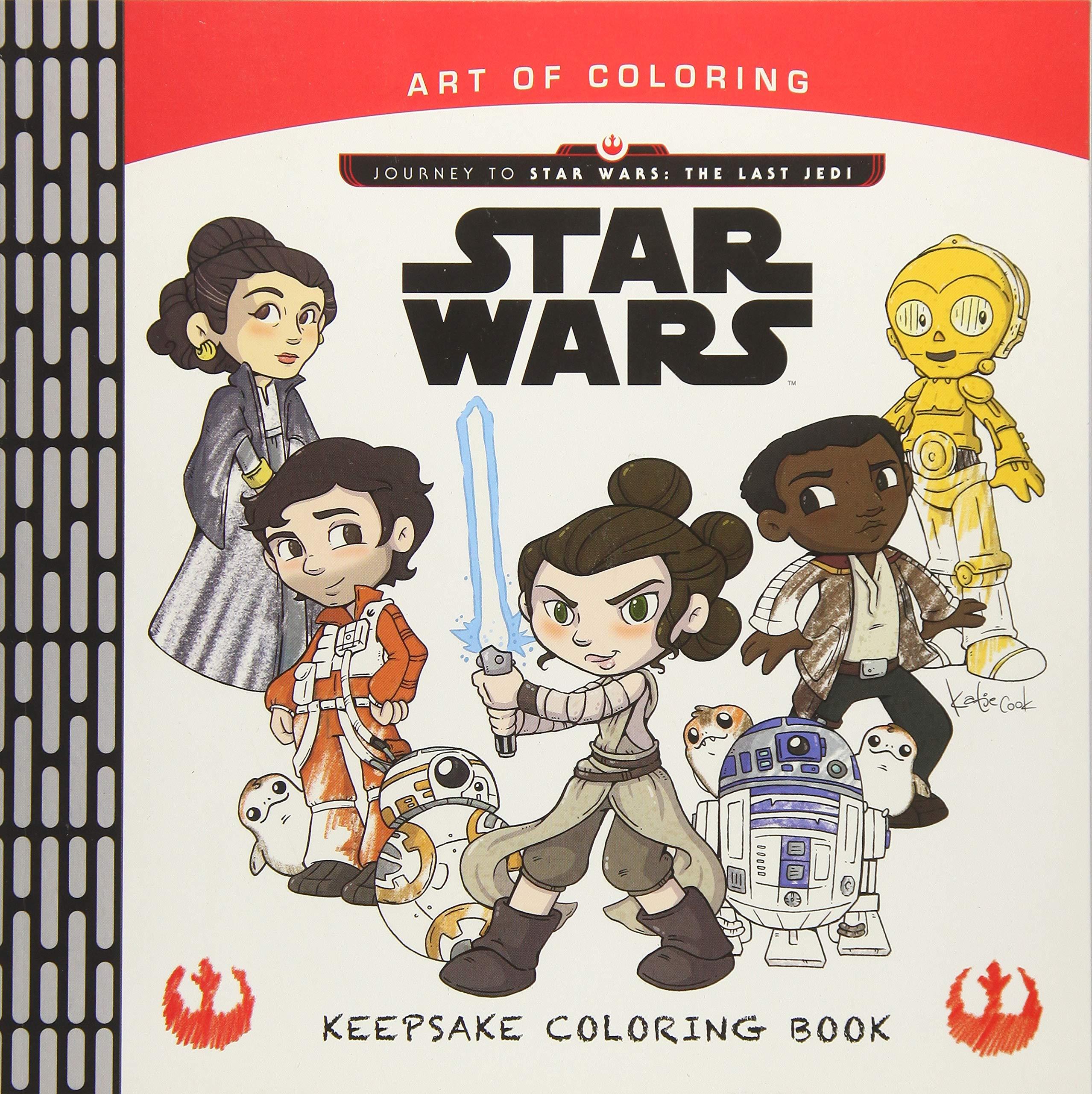 Art Of Coloring Journey To Star Wars The Last Jedi Keepsake