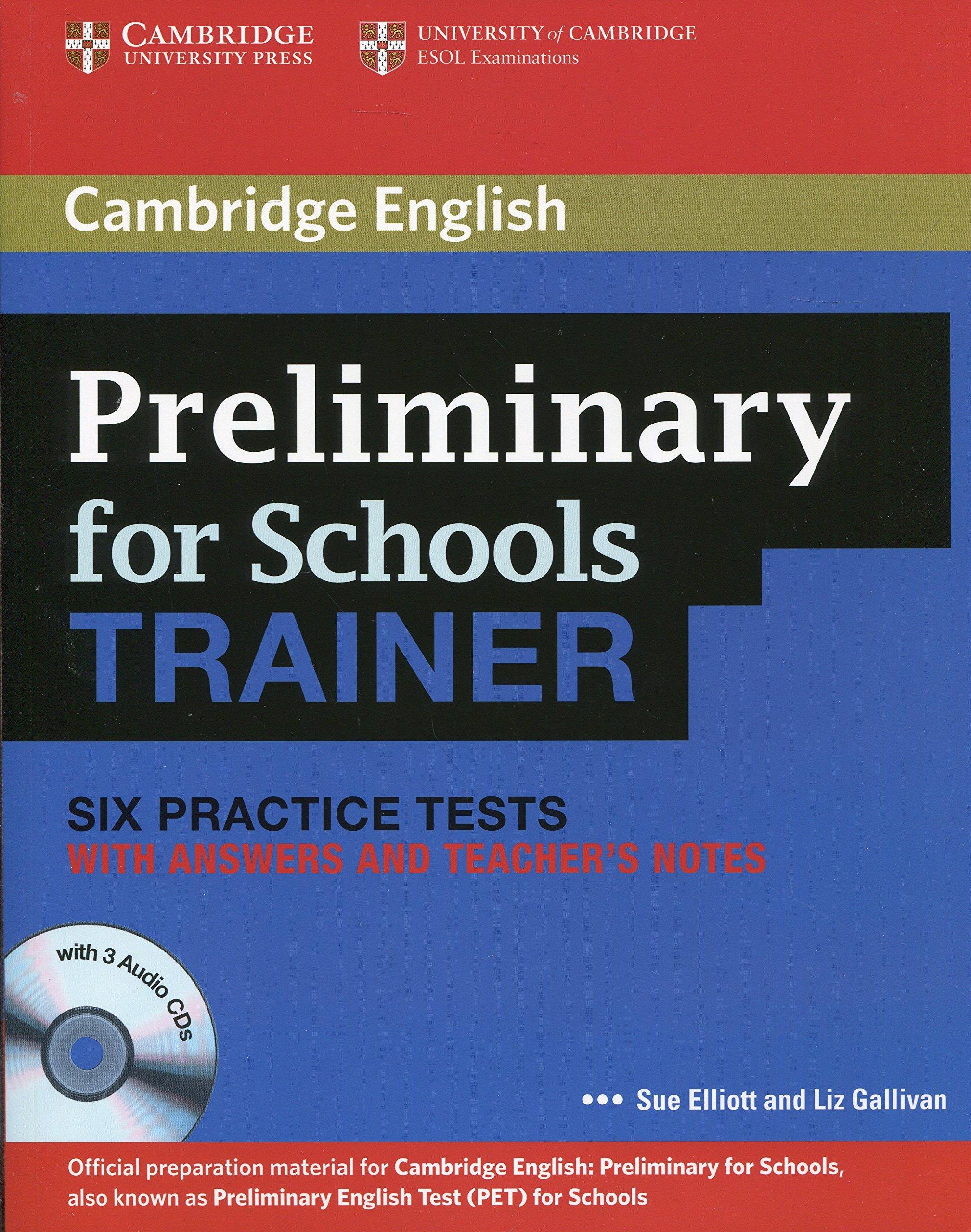 Preliminary English Test - Cambridge (full) Pdf/ Mp3