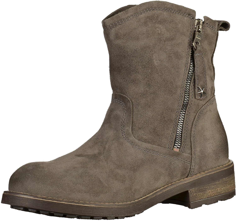 Tamaris - botines de caño bajo Mujer38 EU|gris grafito