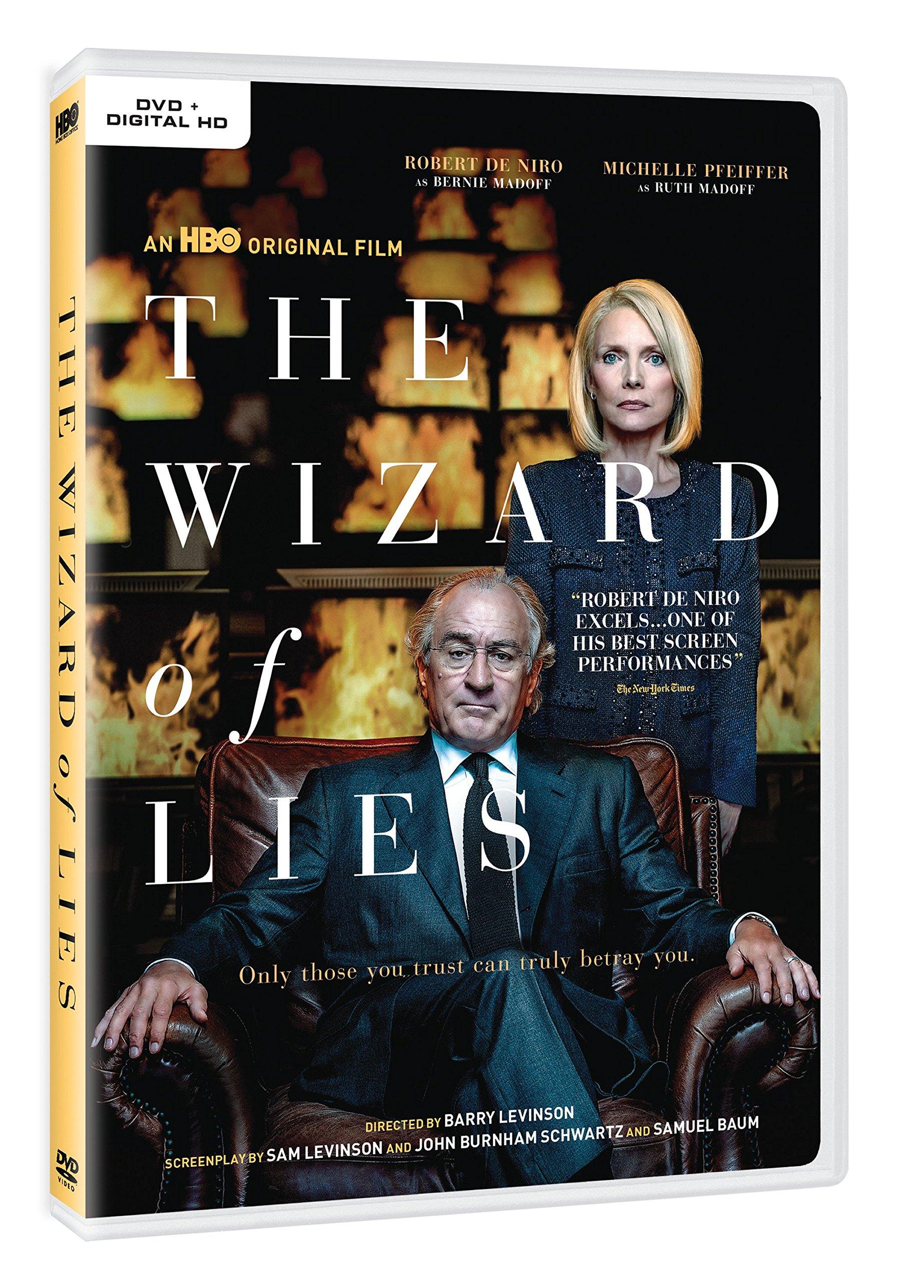 DVD : The Wizard of Lies (Full Frame, Eco Amaray Case, Dolby, AC-3, Digitally Mastered in HD)