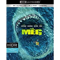 The Meg (Uncut) [4K Ultra HD/Blu-ray] (2018) | Includes SlipCover | Imported from USA | Warner Bros. | 113 min | Action Horror Sci-Fi Dolby Atmos | Director: Jon Turteltaub | Starring: Jason Statham
