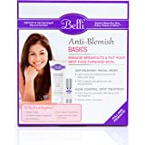 Belli Anti-Blemish Basics Value Set – Manage Breakouts with Belli Anti-Blemish Facial Wash and Acne Control Spot Treatment – Specifically Designed for Expecting Moms