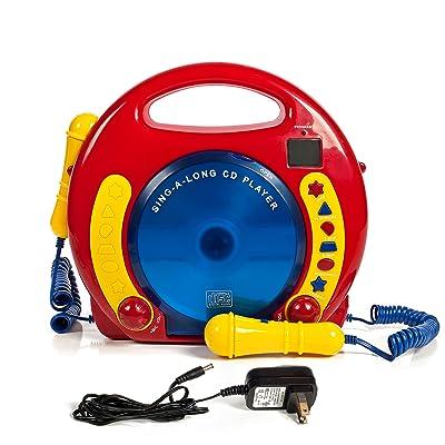IQ Toys CD Player Karaoke Machine