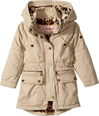 bec3372d66bb Amazon.com  Urban Republic Kids Womens Cotton Twill Anorak With Faux ...