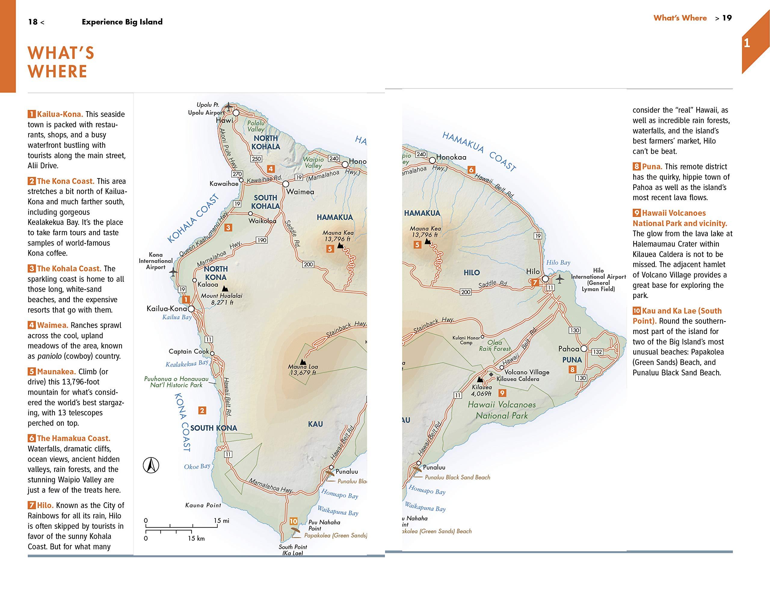 Kona Coffee Farms Map Locations on