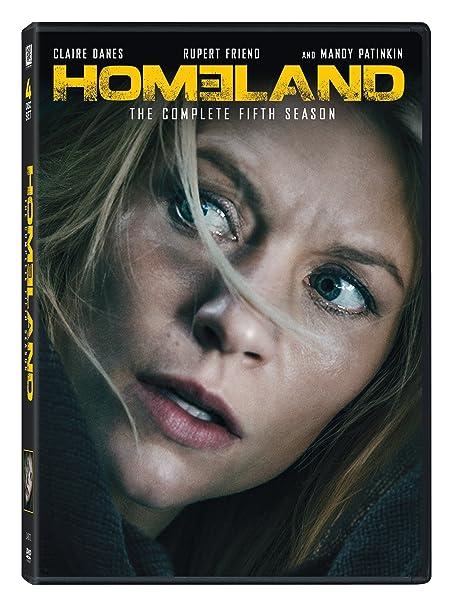 Amazon.in: Buy Homeland: The Complete Season 5 (4-Disc Box ...