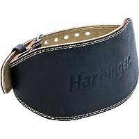 Harbinger 285 - Cinturón Acolchado de Cuero para Levantamiento de Peso de 15.2 cm (6 pulg.)