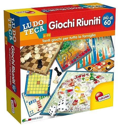 0f61de4c35a377 Lisciani Giochi Ludoteca Giochi Riuniti Più di 60, 57023: Amazon.it ...