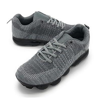 Blue Berry Women Flyknit Lightweight Walking Tennis Shoes Comfort Casual Sneakers | Walking