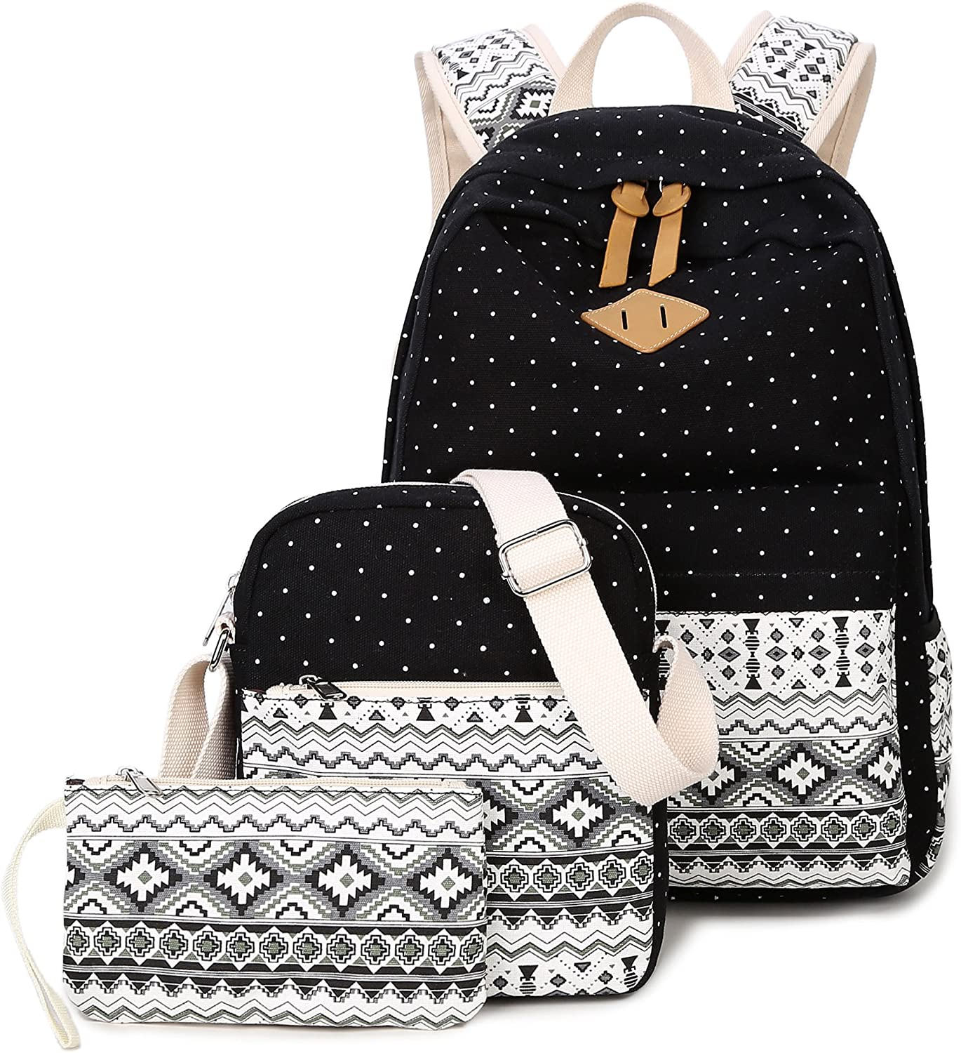 TOTOD New Listed Fashion Backpack Teenage Girls Boys School Backpack Bag Patchwork Students Bags