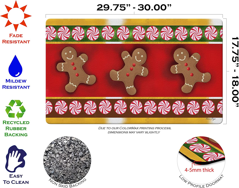 Amazon.com: Toland Home Garden Gingerbread Men 18 para ...