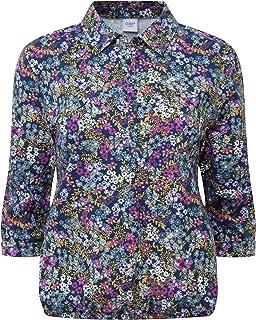 ca67ecc9d63 Cotton Traders Womens Ladies Three Quarter Sleeve Elasticated Hem Jersey  Blouse