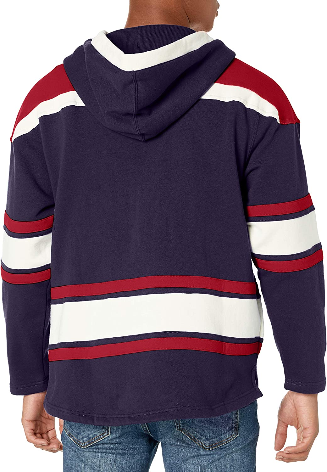 NFL Mens OTS Lacer Pullover Hoodie